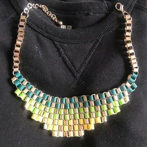 Multi-colored handmade Necklace